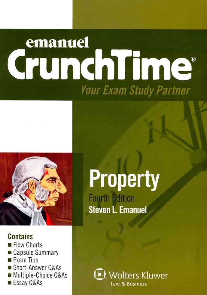 Property By Emanuel, Steven [Study Guide Edition]